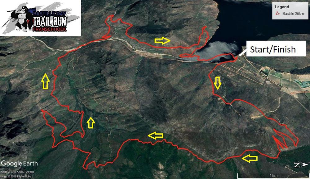 25-km-route